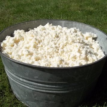 shredded natural latex fill bucket