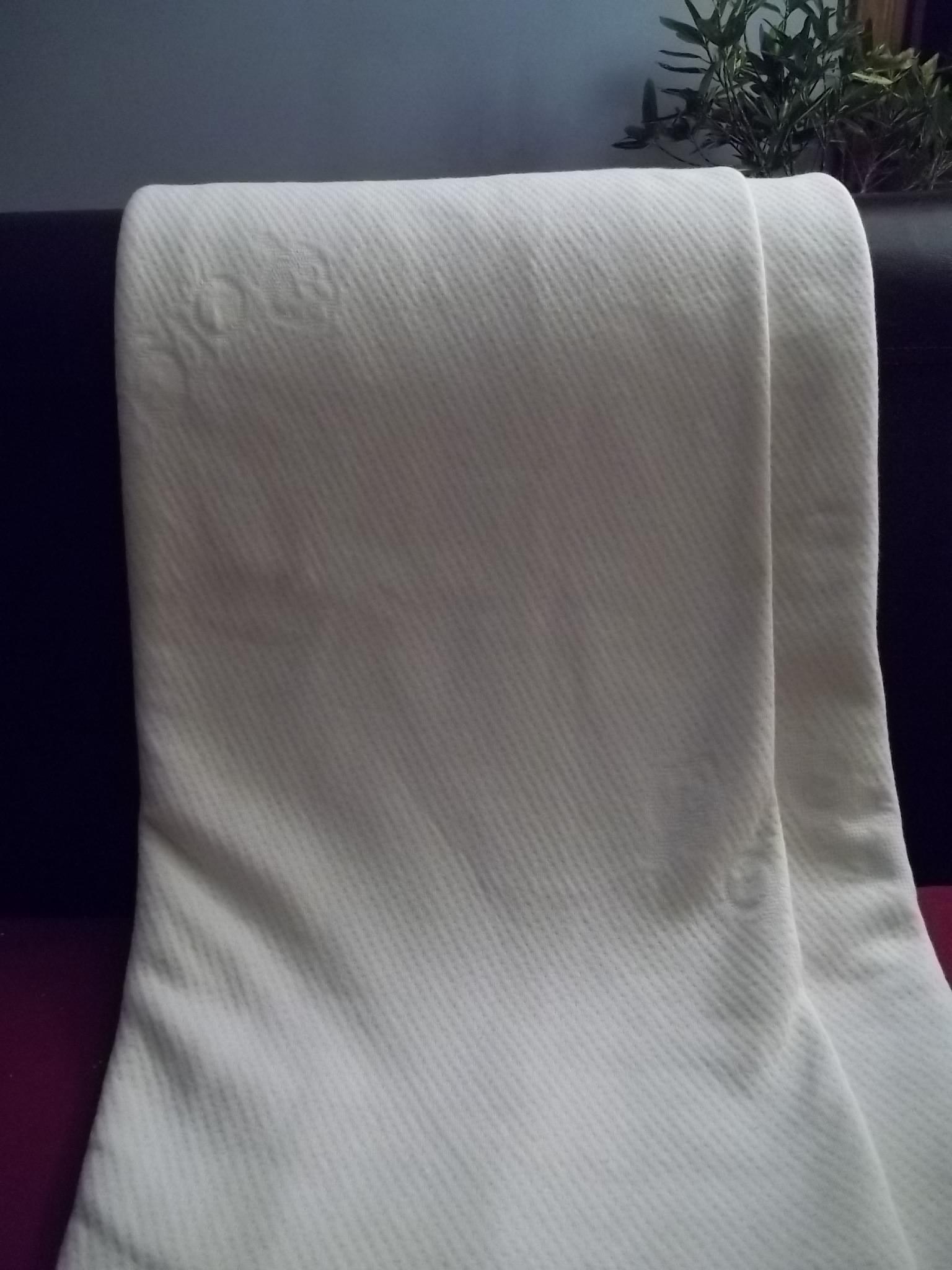 c06106c8c2b Double Knit GOTS Organic Cotton Fabric Draped