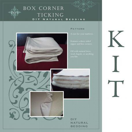 Box Ticking Pattern & Kit