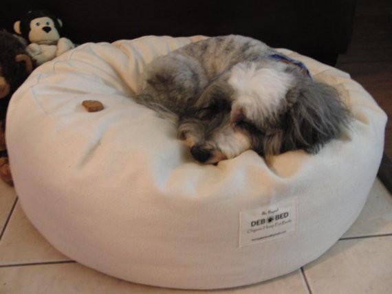 Organic Hemp Dog Bed