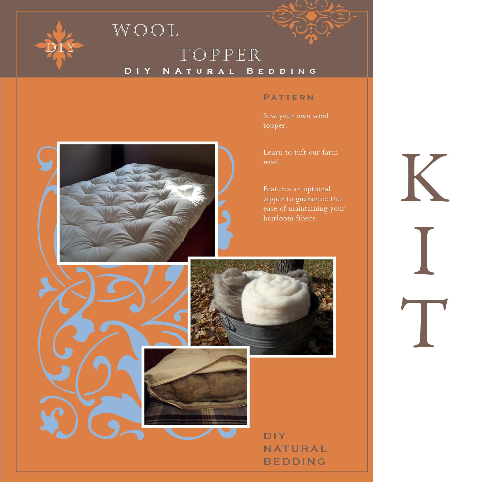 Wool Topper Kit