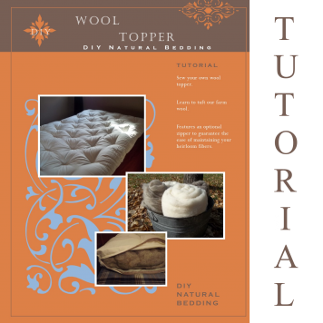 Wool Topper Tutorial