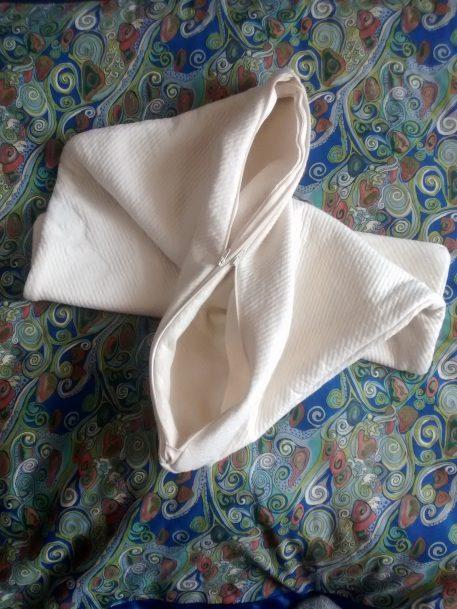 double pocket pillow case