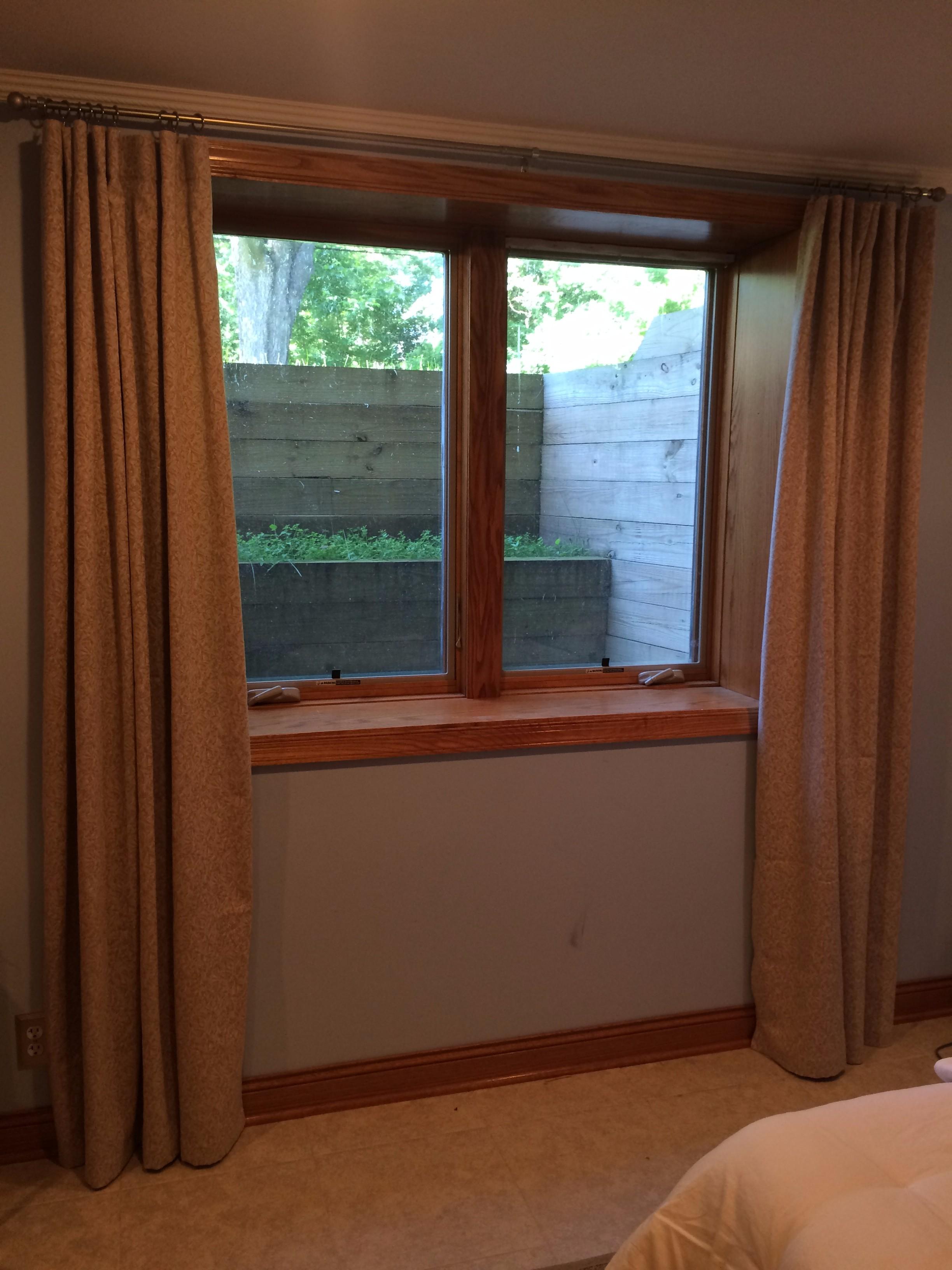 organic curtains