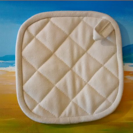 organic hot pad