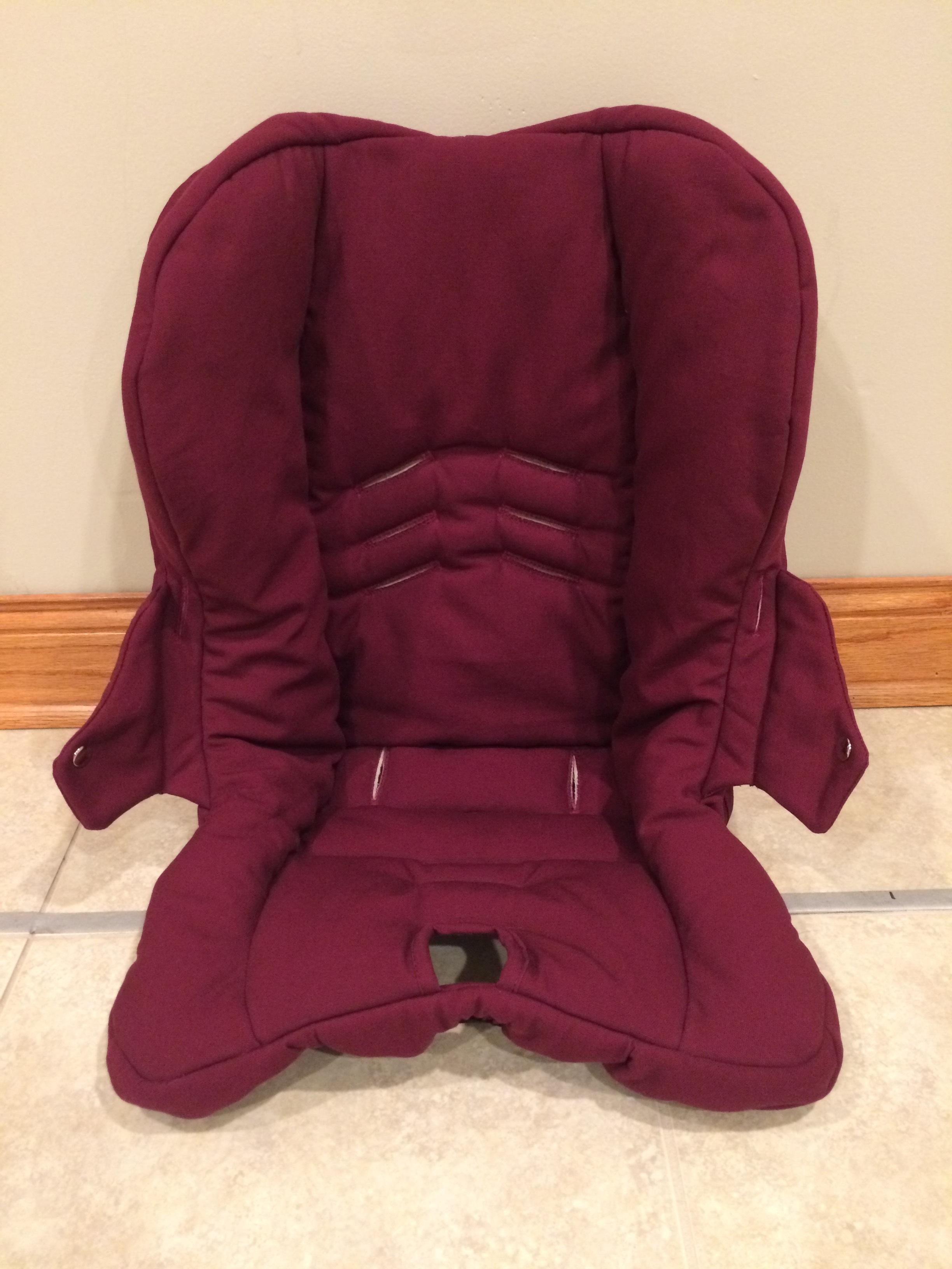 natural latex custom car seat pad