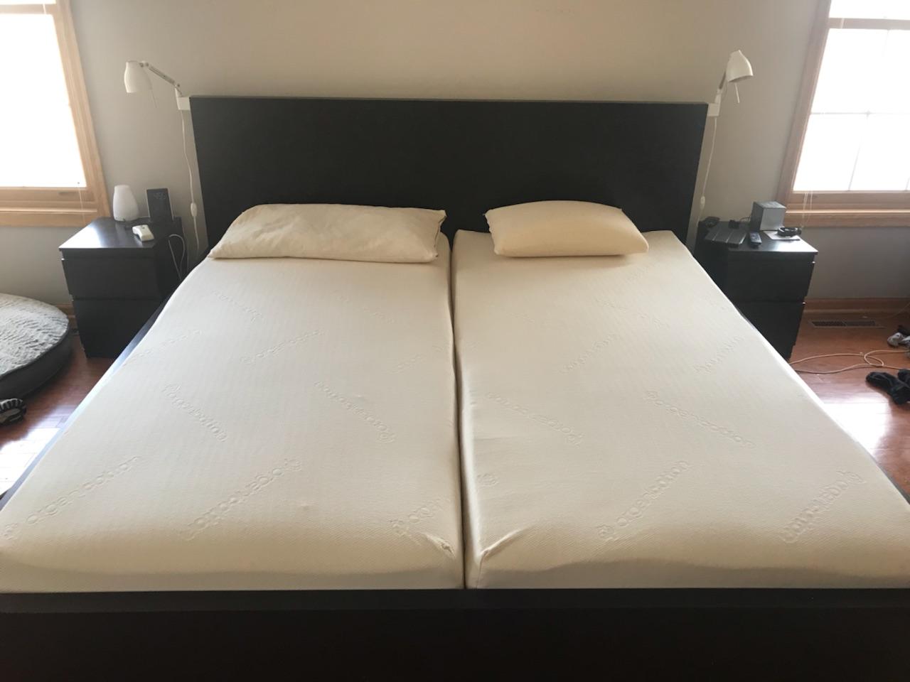 DIY organic mattress