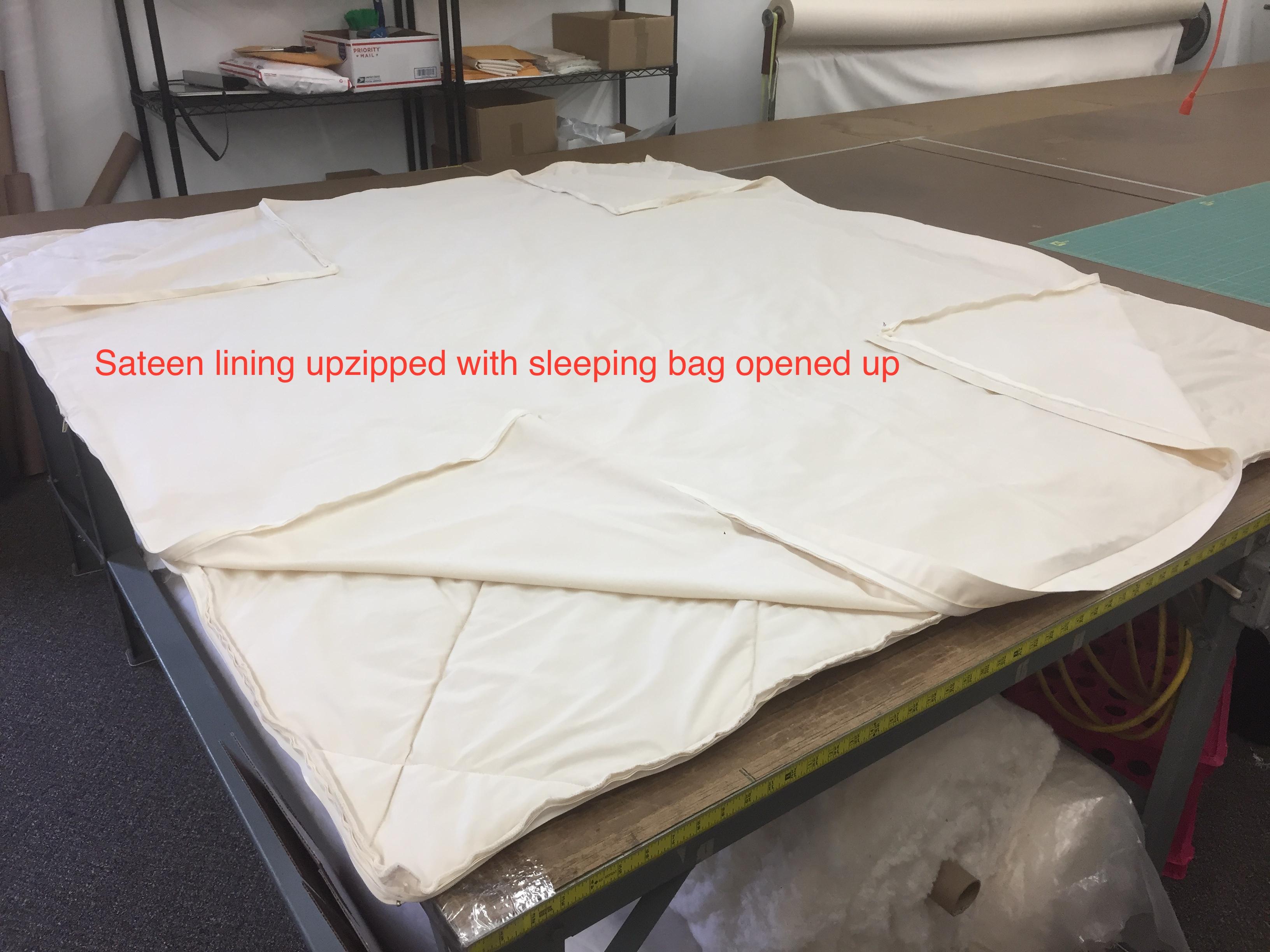 Wool Sleeping Bag - DIY Natural Bedding