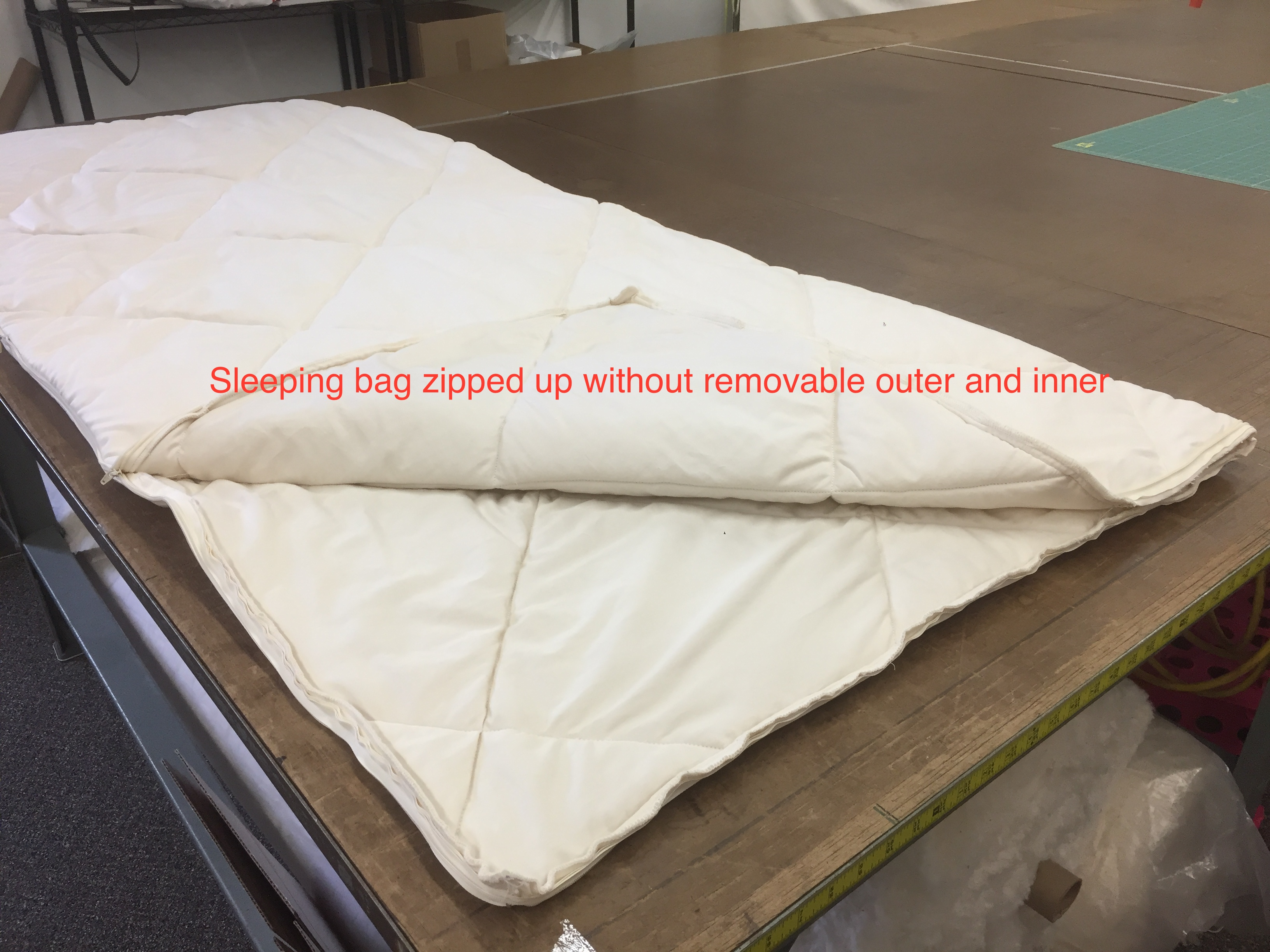 Wool Sleeping Bag - DIY Natural Bedding