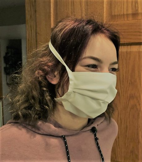 GOTS organic face mask