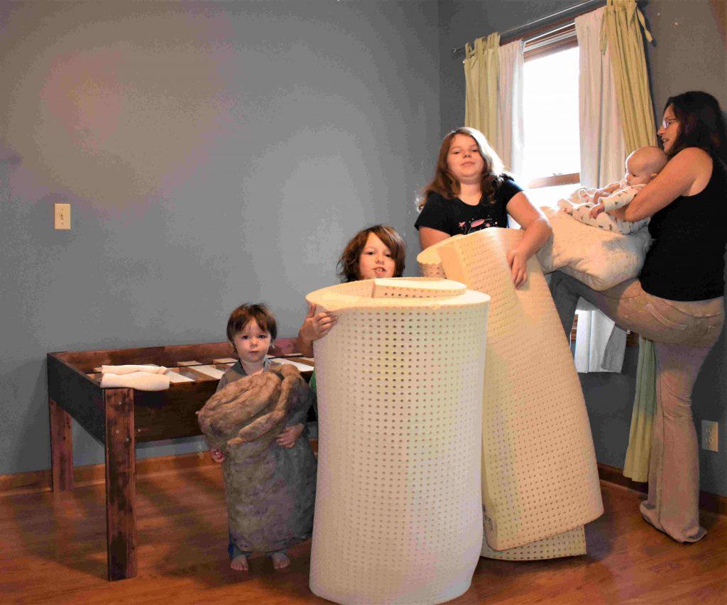 Assembling an Organic Latex Mattress - DIY Natural Bedding